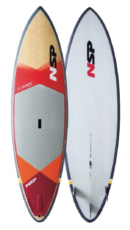 SUP surf wave paddleboard NSP