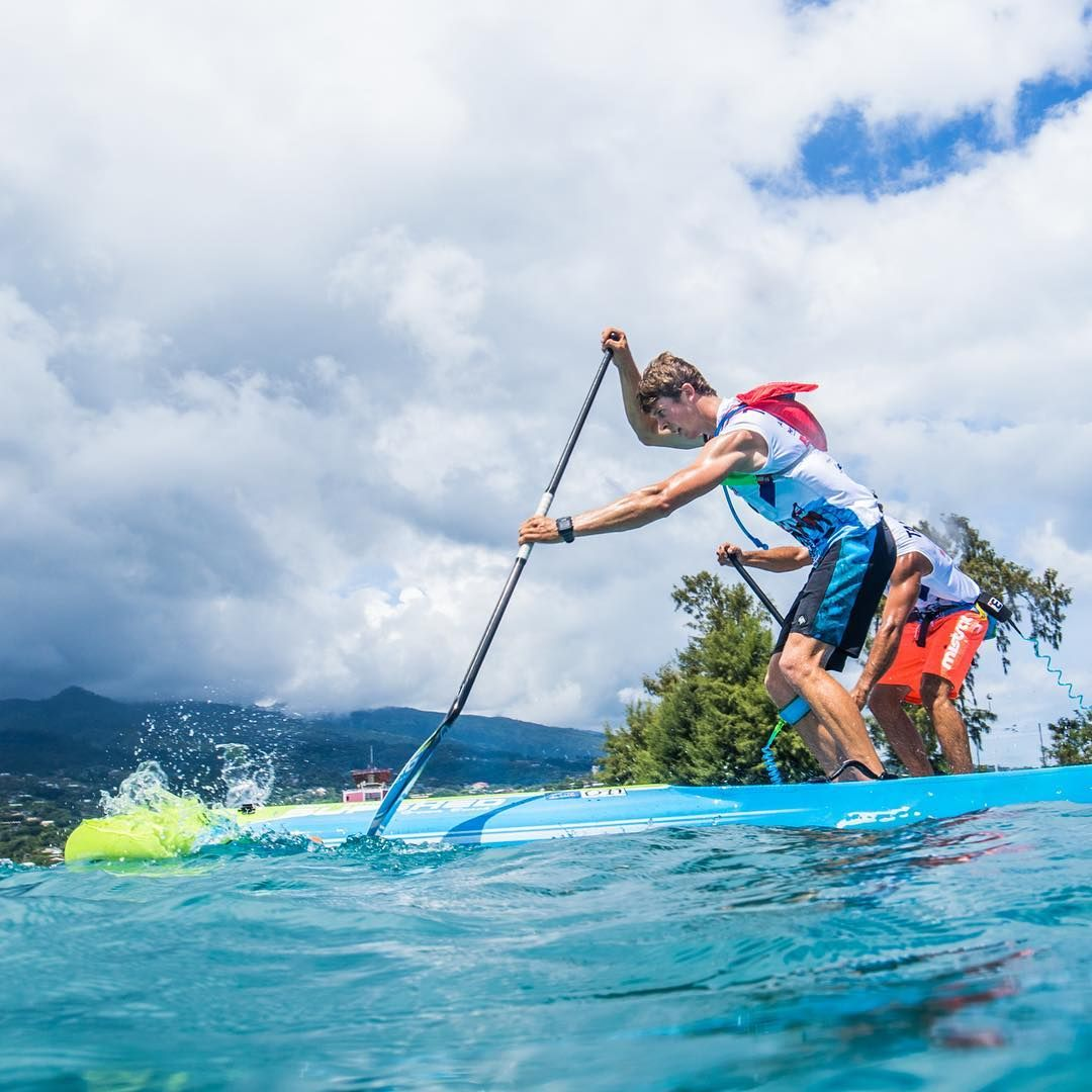 Quickblade NSP Marcus Hansen race paddleboard