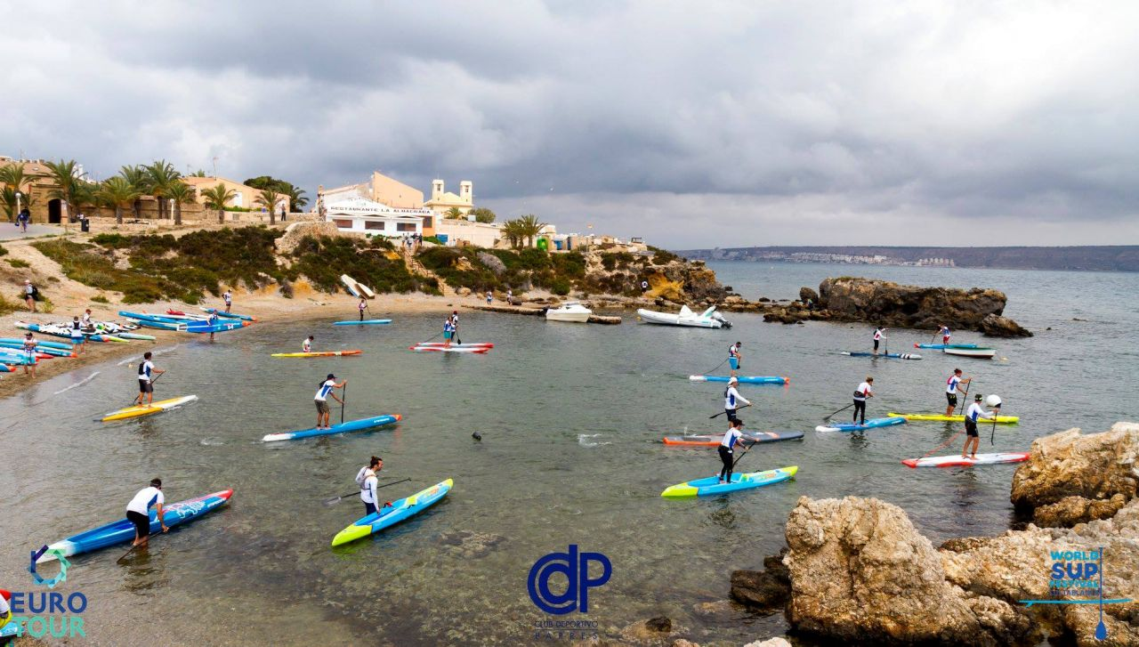 EuroTour_World SUP Festival Costa Blanca_zátoka_start